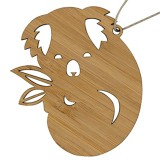 Earth Greetings Bamboo Decoration - Sleepy Koala