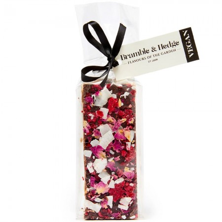 Bramble & Hedge Vegan Nougat 150g - Sour Cherry & Raspberry