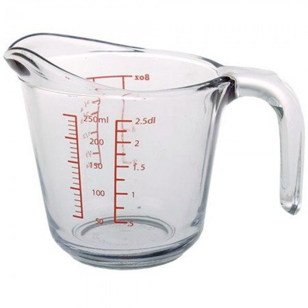 Kitchen Classics Glass Measure Jug - 1 Cup/250ml