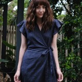 Torju Sunset Jumpsuit Indigo Stripe