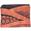 One Thousand Lines Flat Pouch - Copper Sand Dunes