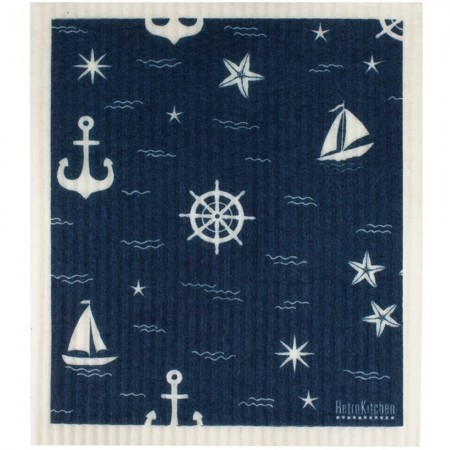 Swedish Dish Sponge Cloth - Nautical