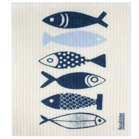 Swedish Dish Sponge Cloth - Fish