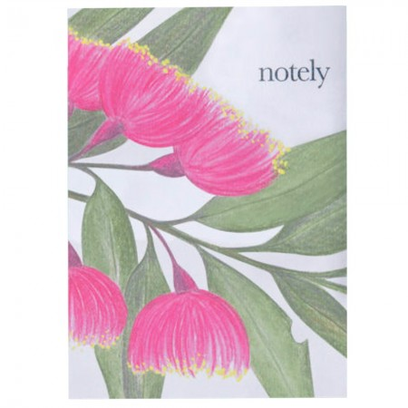 Notely 200 Page Lined Blossom Journal A5 - Red Flowering Gum