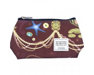 Beekeeper Parade Makeup Bag Small Brown Jewellery