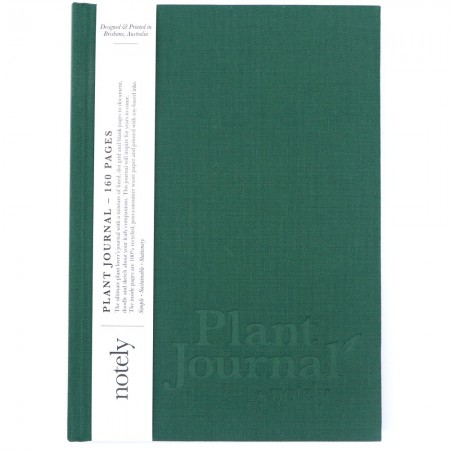 Notely Plant Journal - Forest Green