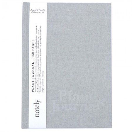 Notely Plant Journal - Soft Grey