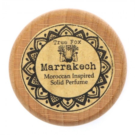 Tree Fox Solid Perfume Pot - Marrakech