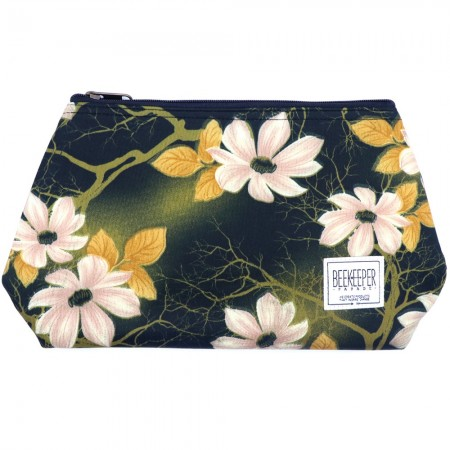 Beekeeper Parade Makeup Bag Large Retro Floral