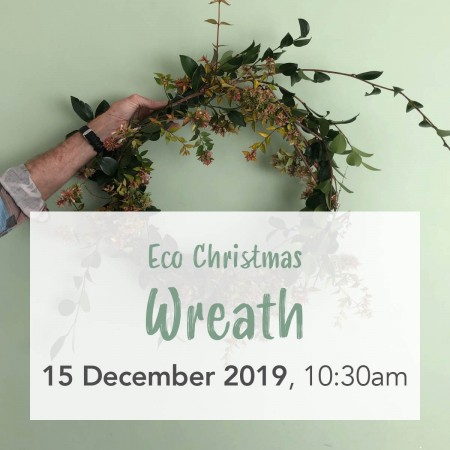 'Foraged Eco Christmas Wreath Weaving' with Cultivate Collective Sun Dec 15 Workshop