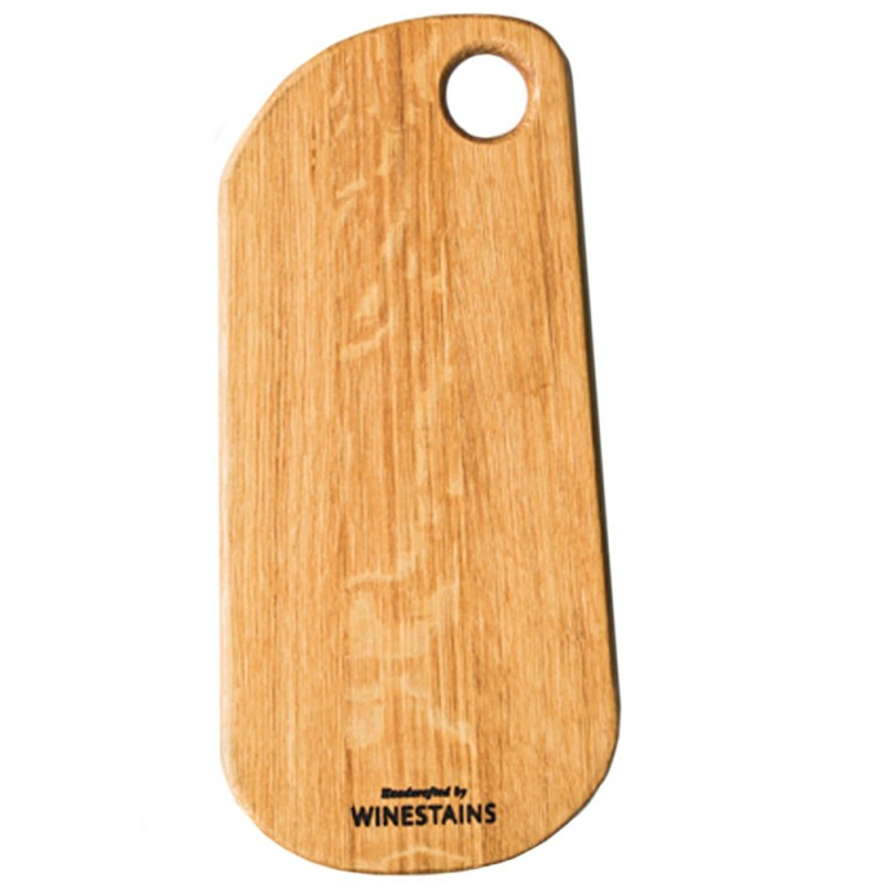 Winestains Flat Rounded Cheeseboard