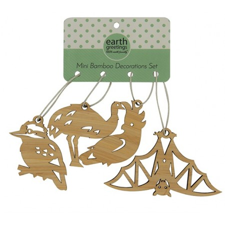 Earth Greetings Mini Decoration Set Kookaburra