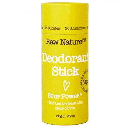 Raw Nature Deodorant Stick 50g - Sour Power