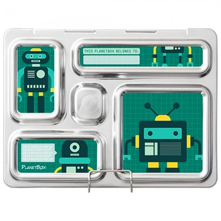 PlanetBox Rover Kit ROBO FRIENDS (Box, Containers, Magnets)