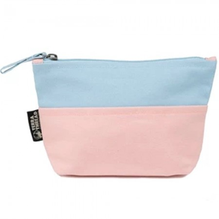 Terra Thread Honua Pouch Mixed Double Pink Baby Blue