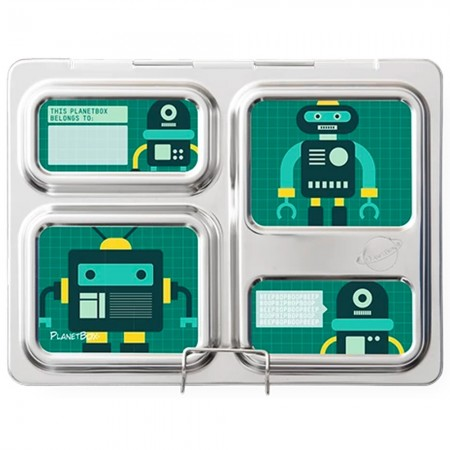 Planetbox Launch Kit ROBO FRIENDS (Box, Dipper, Magnets)