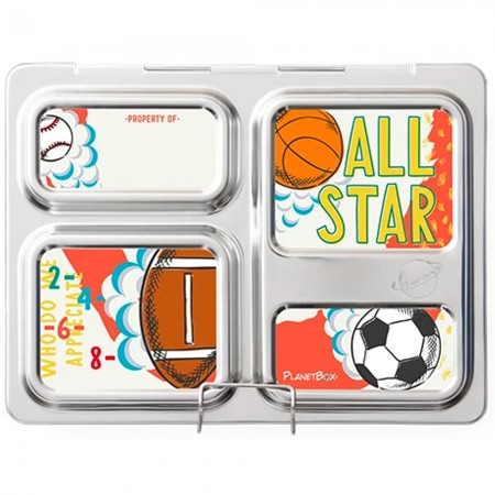 Planetbox Launch Kit SPORTS NEW (Box, Dipper, Magnets)