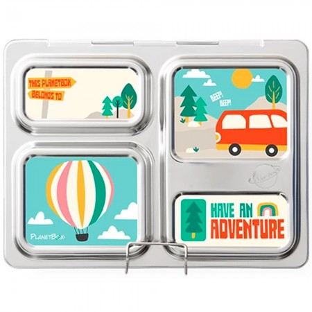 Planetbox Launch Kit ADVENTURE (Box, Dipper, Magnets)