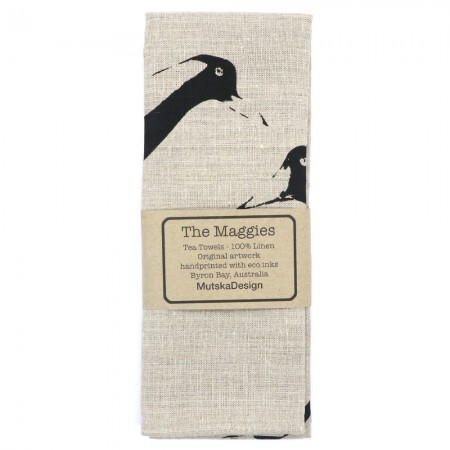 Mutska Linen Tea Towel - The Maggies