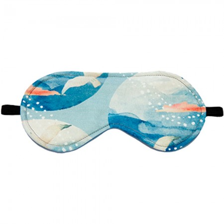 Wheatbags Love Eye Mask - Seaside