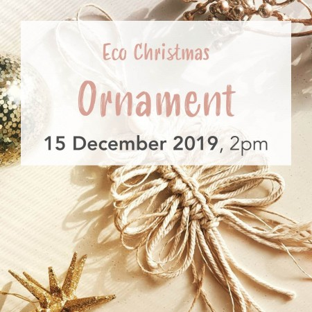 'Eco Christmas Ornament' with Knotting Naked Sun Dec 15 Brisbane Workshop
