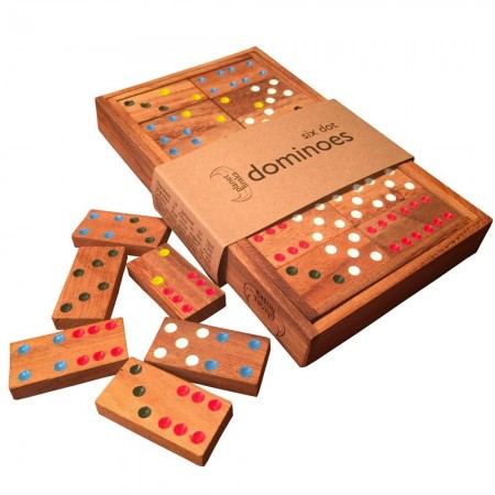 Planet Finska Six Dot Dominoes