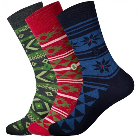 Conscious Step Men's Holiday Sock Collection - Relief Kits, Trees, Water