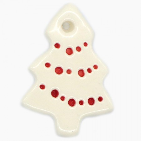 Kylie Johnson Ceramic Christmas Decoration - Little Trees