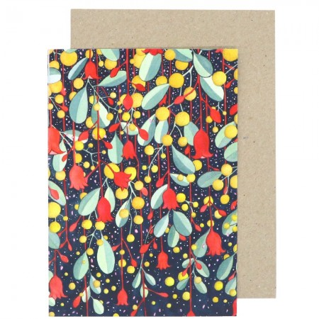 Buy Ingrid Bartkowiak Art Card - Flame & Wattle