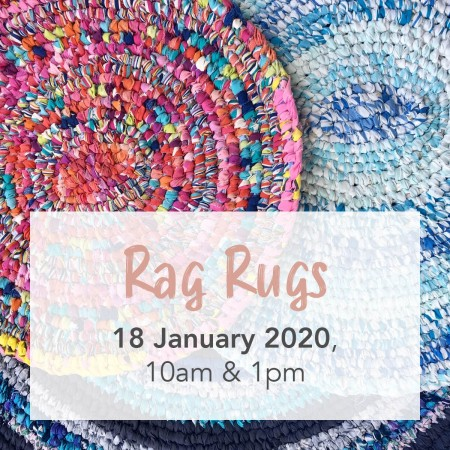 'Rag Rugs with The Sewloist' Sat January 18 Brisbane Workshop PM