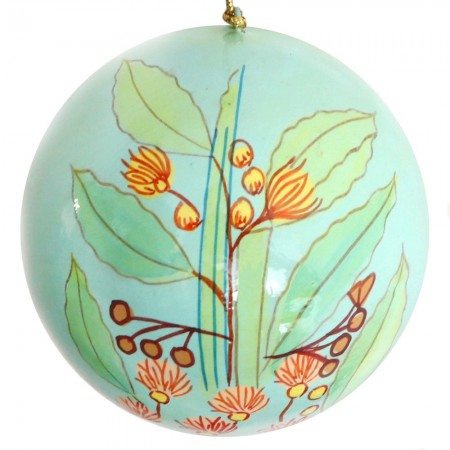 Fair Trade Australiana Christmas Bauble - Gum Leaves