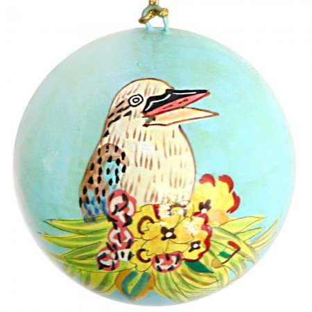 Fair Trade Australiana Christmas Bauble - Kookaburra