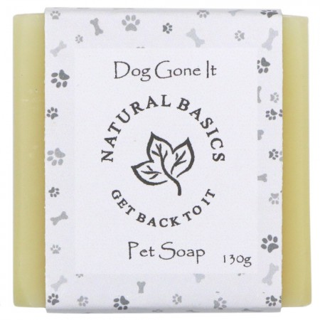 Natural Basics Handcrafted 'Dog Gone It' Pet Soap