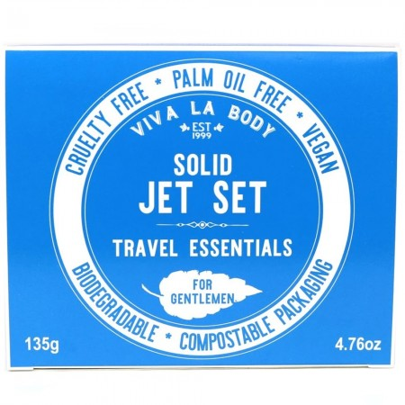 Viva La Body Jet Set Travel Essentials for Gentlemen