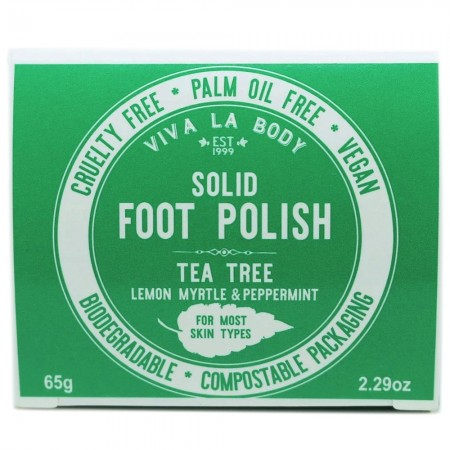 Viva La Body Smoothing Solid Foot Polish - Tea Tree