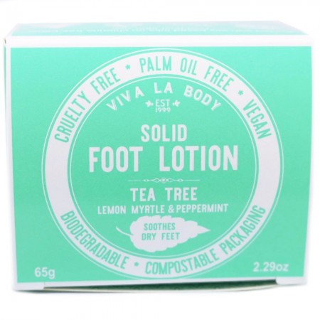 Viva La Body Soothing Solid Foot Lotion - Tea Tree