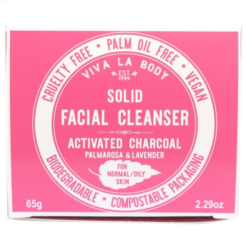 Viva La Body Facial Cleanser Normal/Oily Activated Charcoal