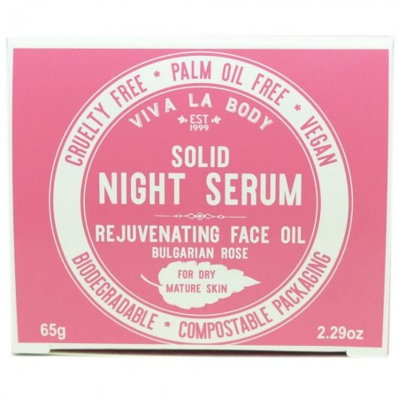 Viva La Body Solid Night Serum Face Oil - Intensive Hydration (Dry/Mature)