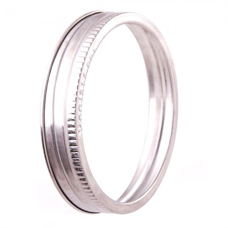EcoJarz 304-Grade Stainless Steel Replacement Band - Wide Mouth