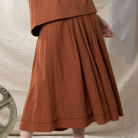 Quillan Copper Skirt