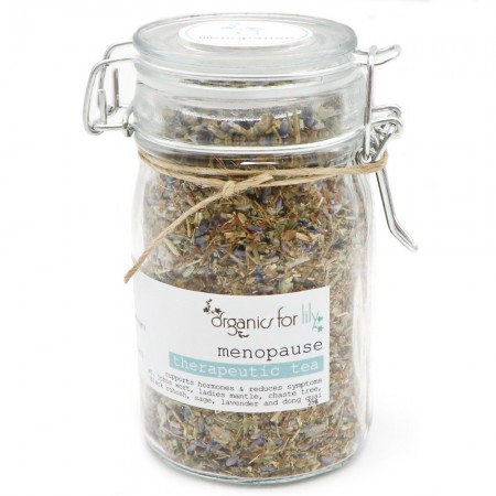 Organics for Lily Therapeutic Tea in Jar 25g - Menopause Tea