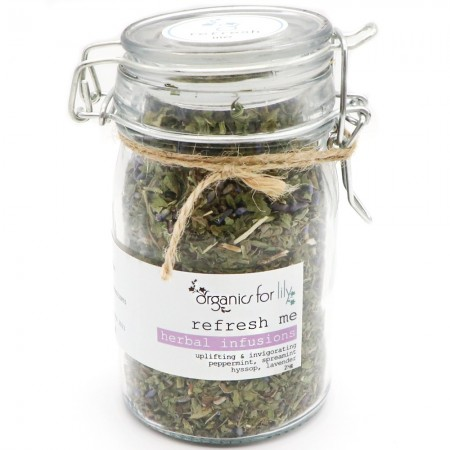 Organics for Lily Herbal Infusion in Jar 25g - Refresh Me