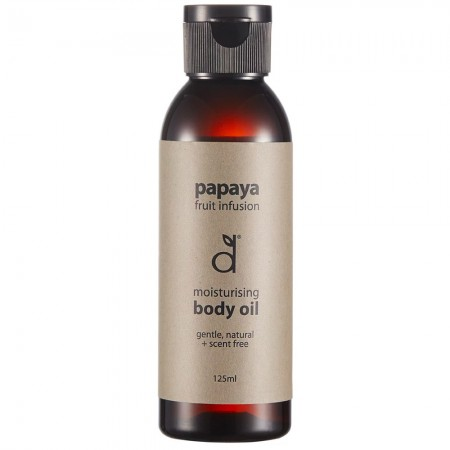 Dindi Naturals Body Oil 125ml - Papaya Fruit Fusion