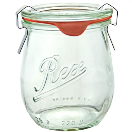 Weck Glass Jar Mini Tulip 220ml