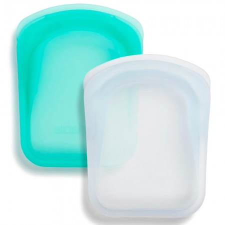 Stasher Pocket 2pk 22ml - Aqua & Clear