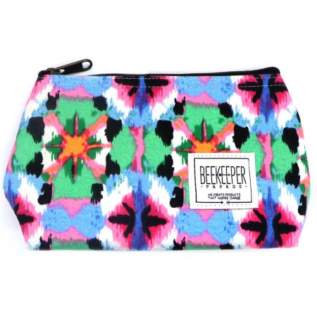 Beekeeper Parade Makeup Bag Small Psychedelic