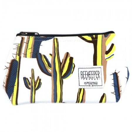 Beekeeper Parade Makeup Bag Small Cactus
