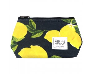 Beekeeper Parade Makeup Bag Small Lemons