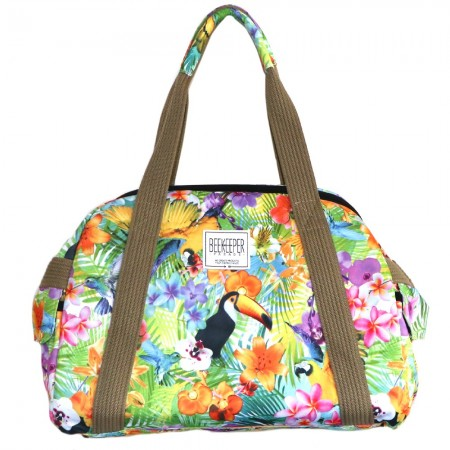 Beekeeper Parade Weekender Medium Floral Toucan