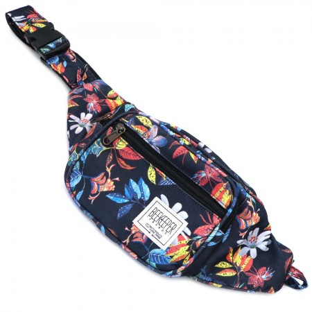 Beekeeper Parade Bumbag Red Blue Flower Garden